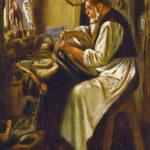 Sattler, Handwerker, Werkstatt