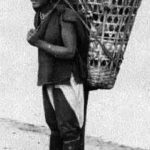 Träger, Tibeter, Mann