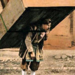 Träger, Möbelstück, Mann, Georgien, Kaukase