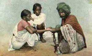 Wahrsager, Handleser, Indien