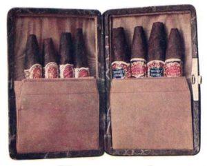 Zigarrenetui, Zigarrenschachtel, Zigarren