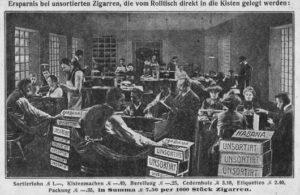 zigarrenfabrikation, Zigarrenmacher, Zigarren