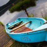 Boot, Kahn, Litauen, Paluse, Sallmann, Bootssteg, See