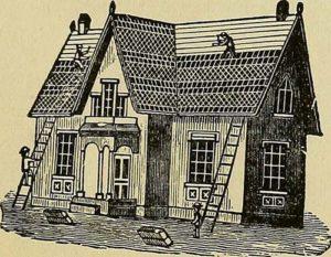 Dachdecker, Dachziegel, Dach decken, Hausbau