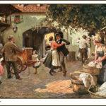 Leierkastenmann, Leierkastenspieler, Drehorgelspieler, Werkelmann, Wien