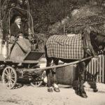 Milchhändler, Milch, Pferdefuhrwerk