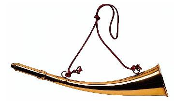 illu: goldenes Signalhorn