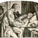 Arzt, Arztbesuch, Hausbesuch, kranke Frau