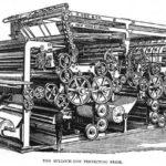 Druckerpresse, Maschine, Drucker