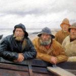 Skagen, Fischer, Regenkleidung
