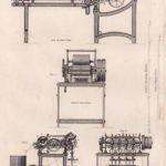 Leinenmanufaktur, Maschinen, Leinenfabrik