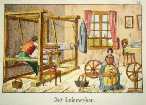 Leinweber, Leineweber
