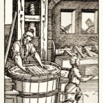 Papyrer, Papiermacher, Papierhersteller, Mittelalter