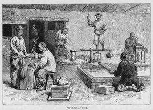 Papiermühle, Papiermacher, Papierhersteller
