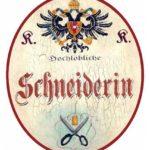 Schneiderin, Handwerksschild