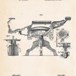 Barbierstuhl Patent 1891