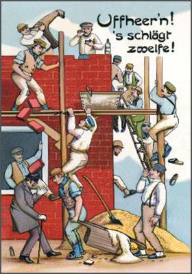 Bauarbeiter bei der arbeit comic  Der Bauarbeiter - Berufe und Tätigkeiten dieser Welt