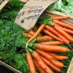 Möhren, Mohrrüben, Karotten, Gemüse, Markt