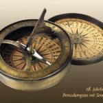 Kompassmacher, Kompass, Reisekompass, Sonnenuhr
