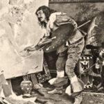 Kunstmaler, Maler, Atelier, Italien
