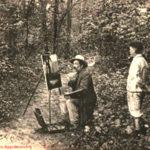 Kunstmaler, Maler, Landschaftsmaler, Frankreich