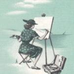 Kunstmalerin, Malerin, Landschaftsmalerei
