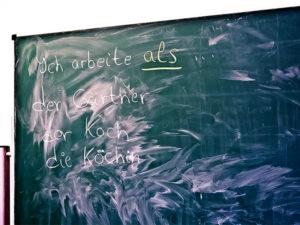 Lehrer, Schule, Schultafel