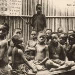 Schüler, Schule, Grundschule, Franz. Kongo
