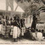 Lehrer, Schüler, Knabenschule, Franz. Kongo
