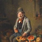 Obstverkäufer, Händler, Verkauf