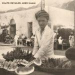 Obstverkäufer, Händler, Verkauf, Jemem