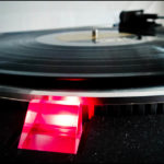 Schallplattenspieler DJ Schallplatte