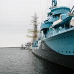 Polen, Ostsee, Schiff