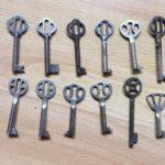 Schlosser, Schlüssel