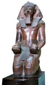 Steinbildhauer, Granitstatue, Ägypten