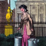 London, Wasserverkäuferin, Wasserhändlerin, Wasser, Straßenhändler