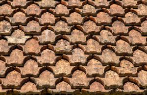 Dachziegel, historisch, Dach, Dachschindeln