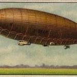 Sammelbild, Luftschiff, Luftfahrt, Zepelin