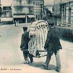 Sänftenträger, Frankreich