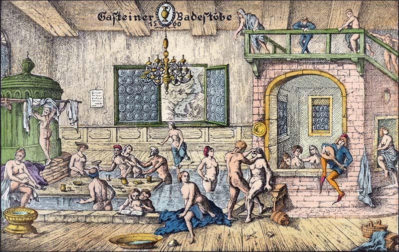 Badehaus Mittelalter