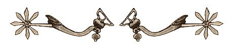 Zeichnung: ein Paar Sporen