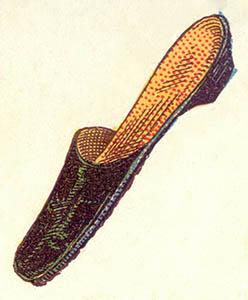 illu: einfacher Pantoffel