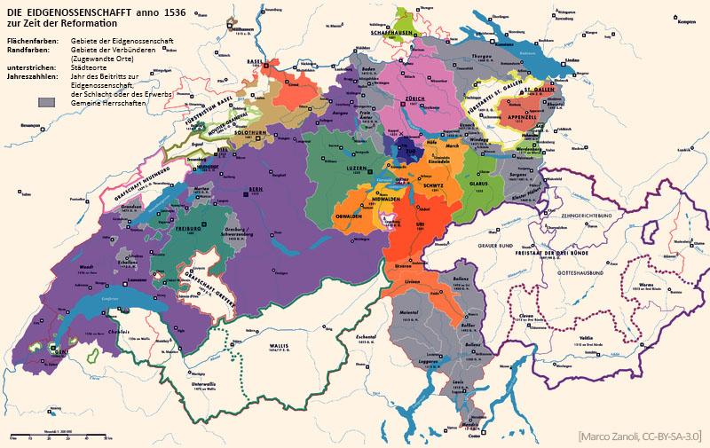 geografische Darstellung