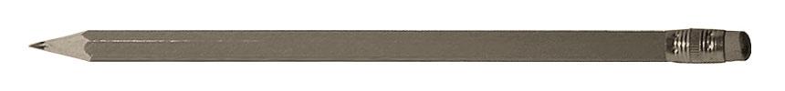 sw Foto: Bleistift mit Radiergummi