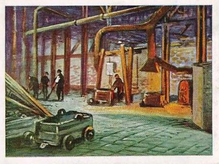 Einblick in Fabrik