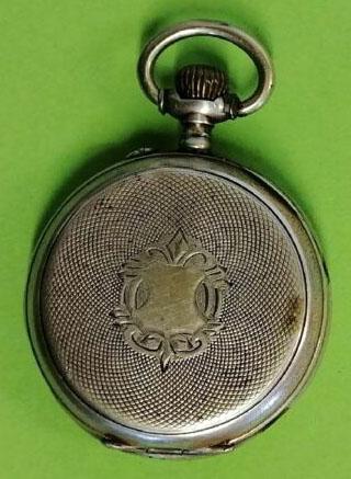 Rückseite Taschenuhr