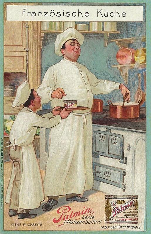 Sammelbild: zwei Köche