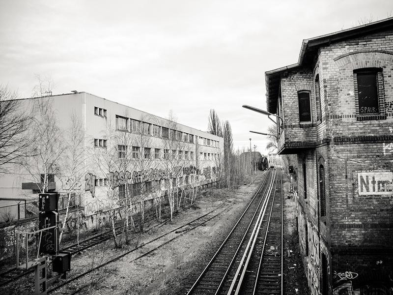sw-Foto: altes Stellwerk