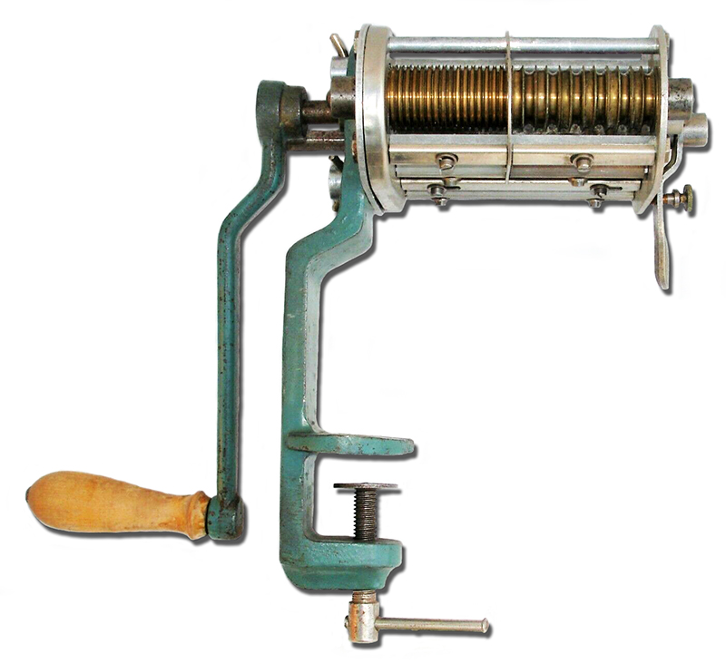 alte Nudelmaschine